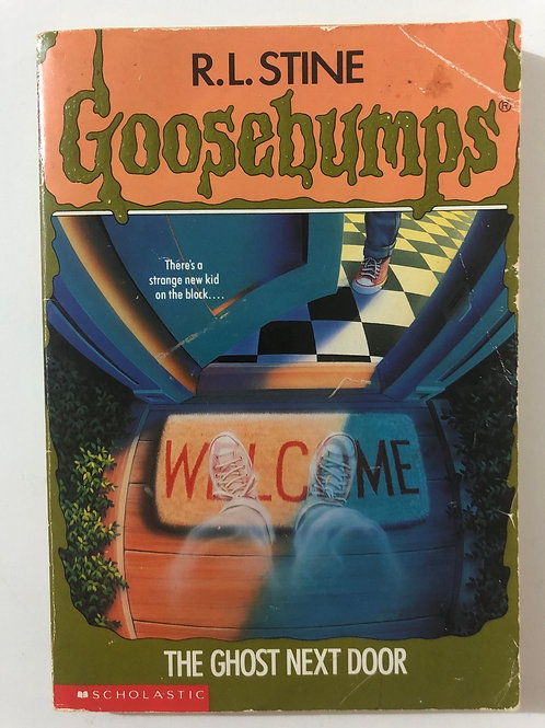 The Ghost Next Door by R.L. Stine (Goosebumps 10)