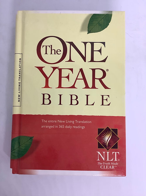The One Year Bible - New Living Translation