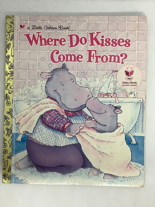 A Little Golden Book - Where Do Kisses Come From?