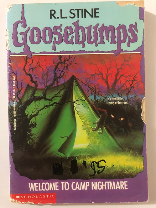 Welcome to Camp Nightmare by R.L. Stine (Goosebumps 9)