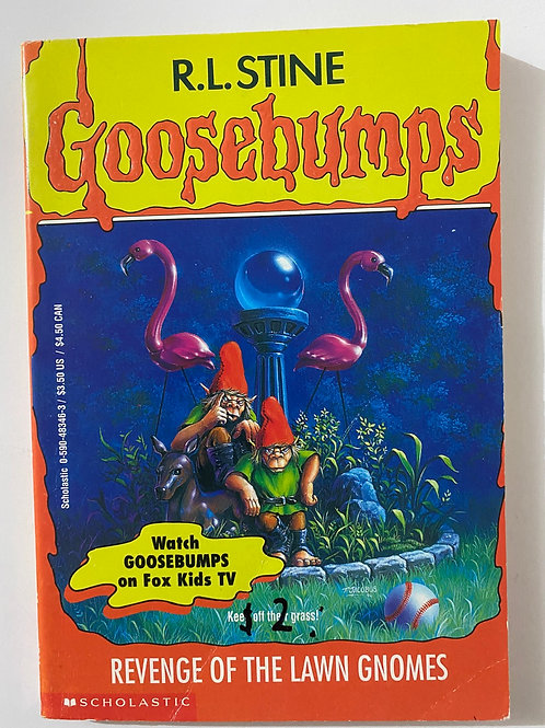 Revenge of the Lawn Gnomes by R.L. Stine (Goosebumps 34)