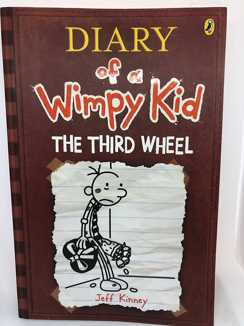 The Third Wheel by Jeff Kinney (Diary of a Whimpy Kid 7)