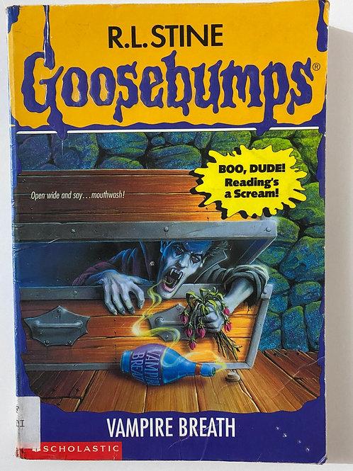 Vampire Breath by R.L. Stine (Goosebumps 49)