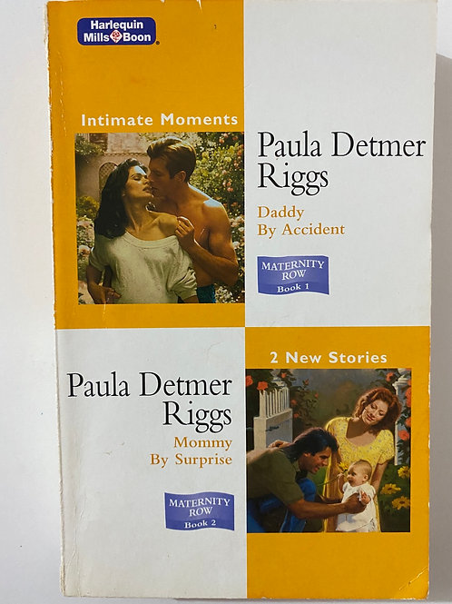Harlequin Mills & Boon Maternity Row 2 in 1