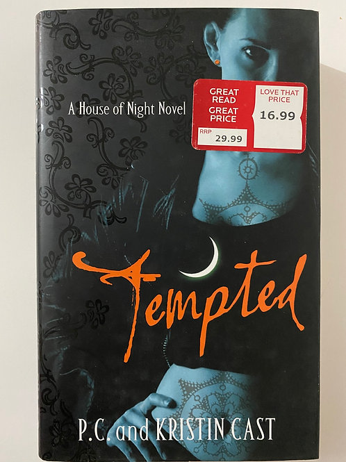 Tempted by P.C. And Kristin Cast (A House of Night Novel)