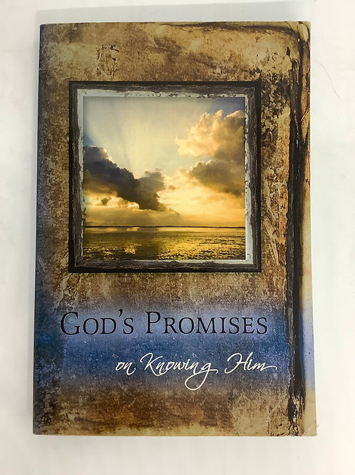 God's Promises on Knowing Him