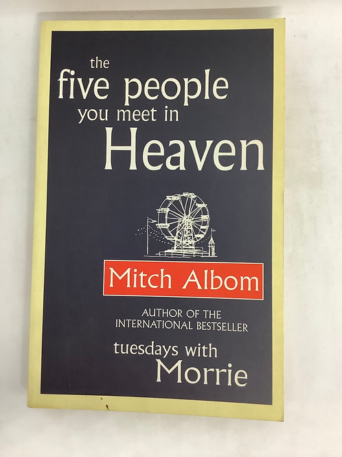 The Five People Youo Meet in Heaven by Mitch Albom