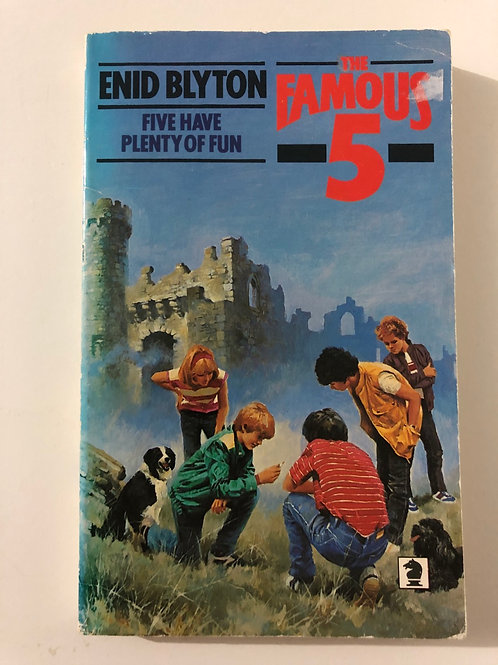 Five Have Plenty of Fun by Enid Blyton (The Famous Five)
