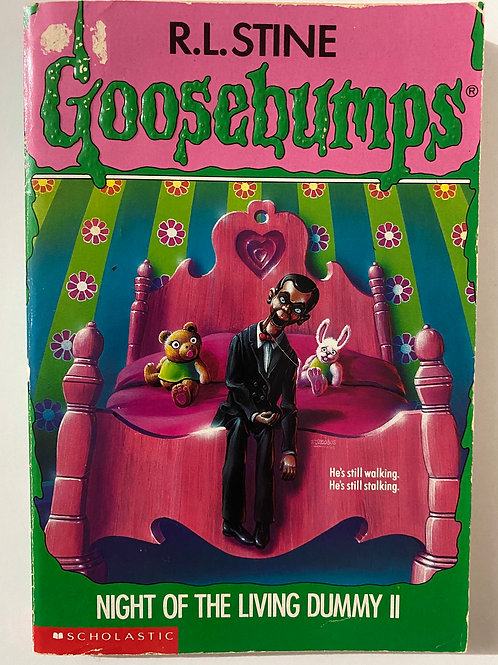 Night of the Living Dummy II by R.L. Stine (Goosebumps 31)