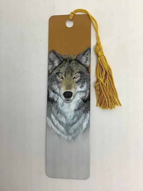 Bookmark - Wolf