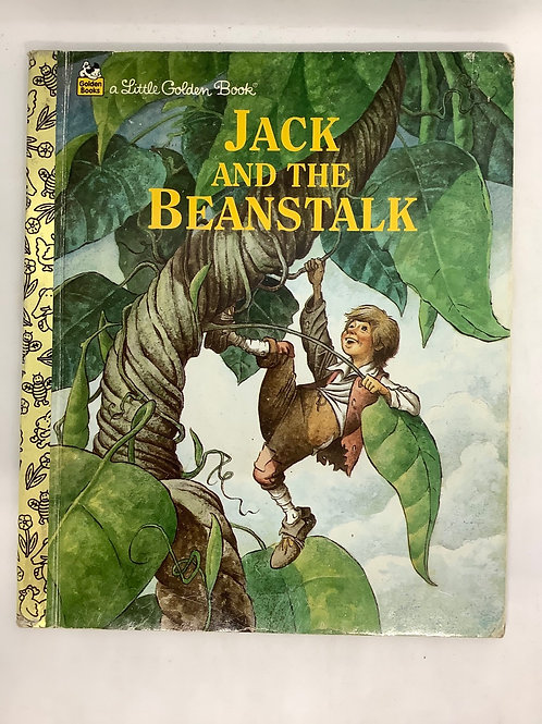 A Little Golden Book - Jack and the Beanstalk