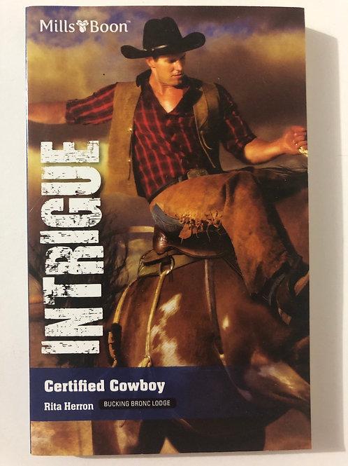 Certified Cowboy by Rita Herron