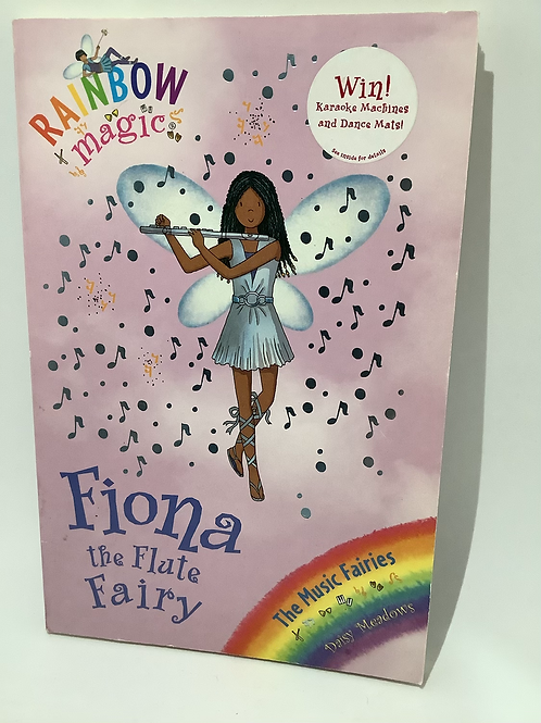 Fiona the Flute Fairy by Daisy Meadows