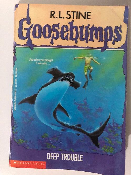 Deep Trouble by R.L. Stine (Goosebumps 19)