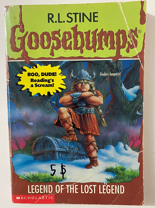 Legend of the Lost Legend by R.L. Stine (Goosebumps 47)
