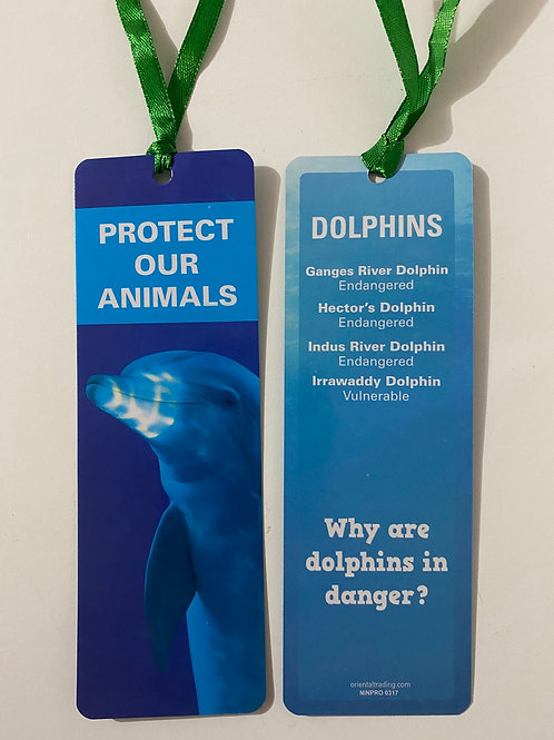 Dolphins Bookmark / Page Saver