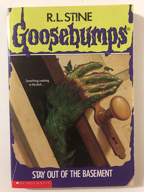 Stay out of the Basement by R.L. Stine (Goosebumps 2)