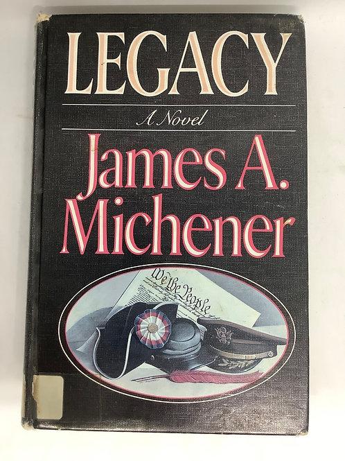 Legacy: A Novel by James A. Michener