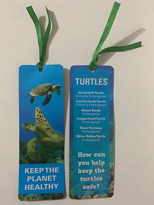 Turtles Bookmark / Page Saver