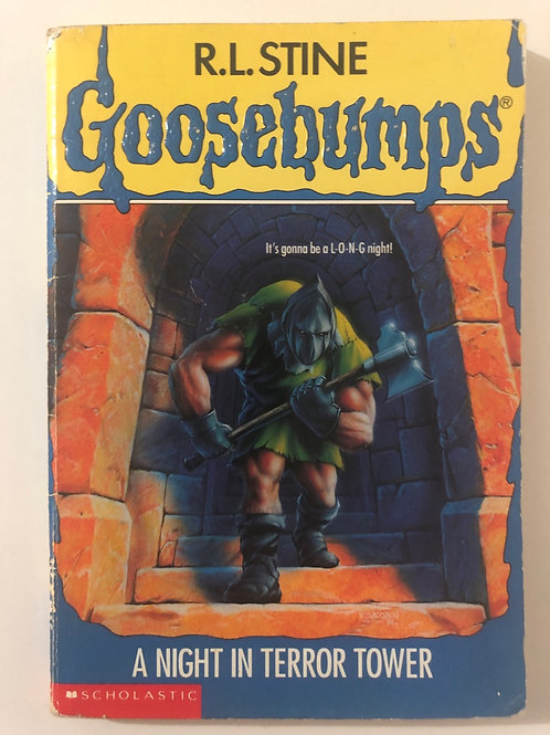A Night In Terror Tower by R.L. Stine (Goosebumps 27)