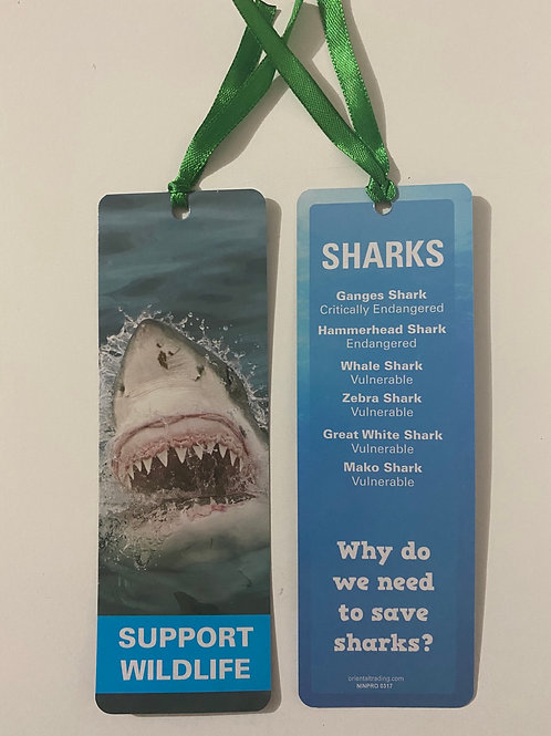 Sharks Bookmark / Page Saver