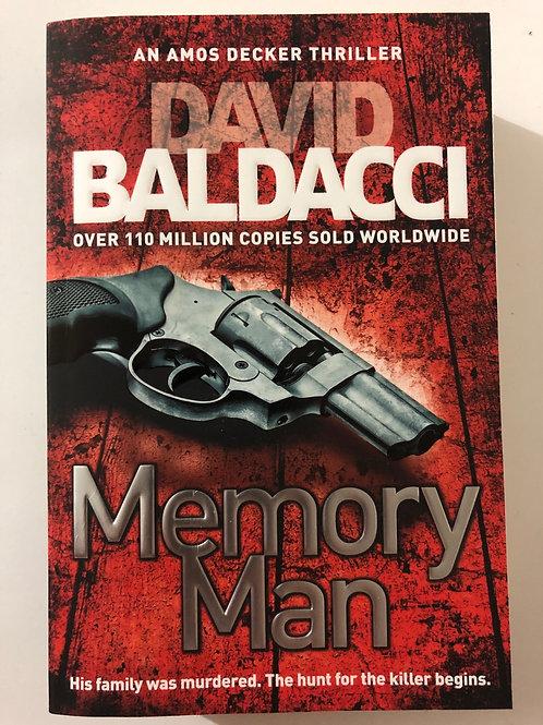 Memory Man by David Baldacci