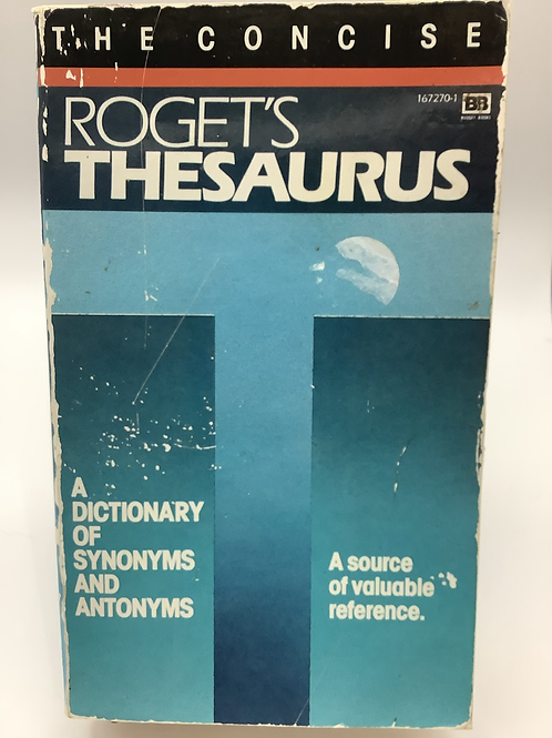 The Concise Roget's Thesaurus
