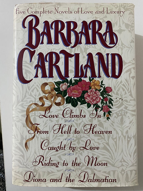 Five Complete Novels by Barbara Cartland