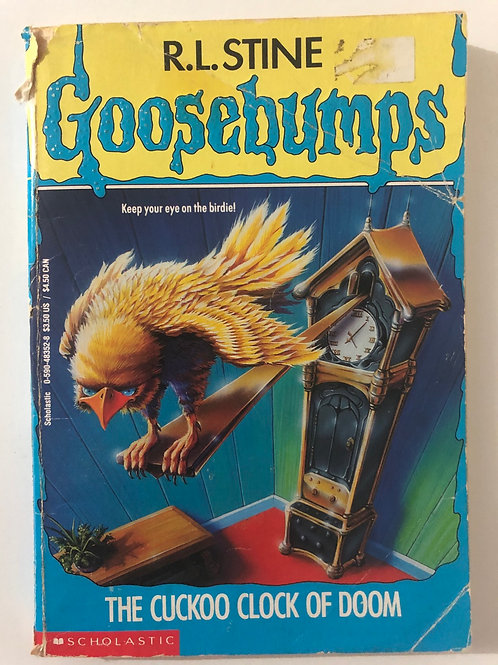 The Cuckoo Clock of Doom by R.L. Stine (Goosebumps 28)