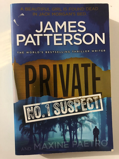 Private No. 1 Suspect by James Patterson