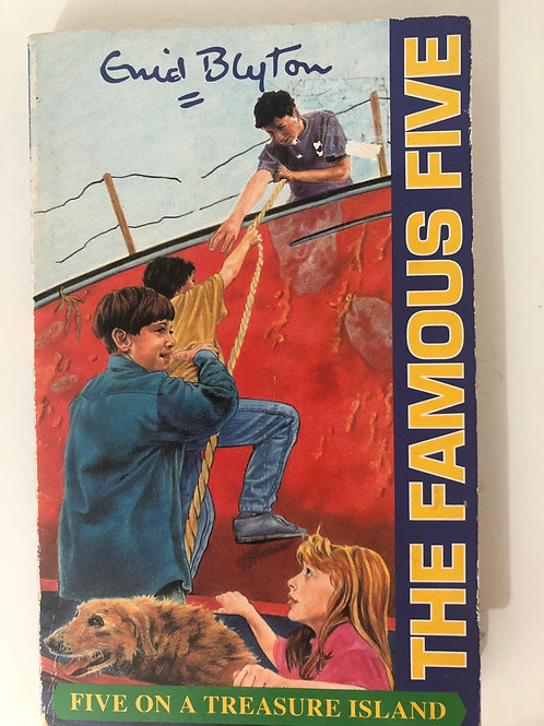 Five on a Treasure Island by Enid Blyton (The Famous Five 1)