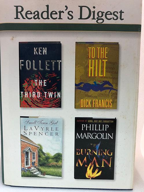 Reader's Digest Condensed Books - Follett, Spencer, Francis & Margolin