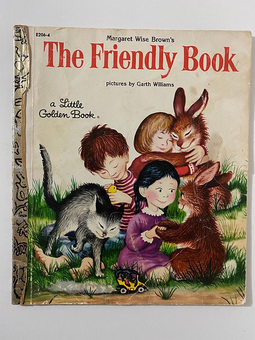 The Friendly Book by Margaret Wise Brown (A Little Golden Book)