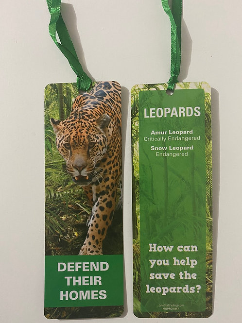 Leopards Bookmark / Page Saver