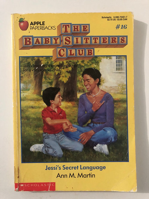 Jesus's Secret Language by Ann M. Martin (The Baby-Sitters Club #16)