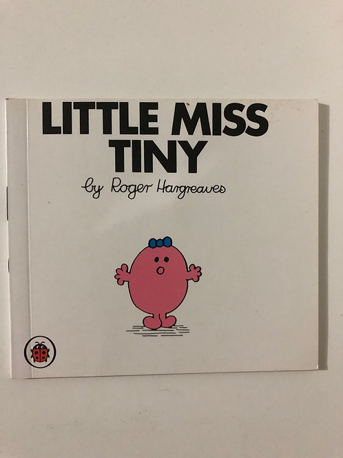 Little Miss Tiny by Roger Hargreaves