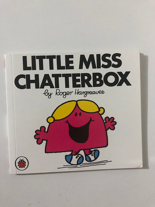 Little Miss Chatterbox & Mr Noisy by Roger Hargreaves (2 in 1 book)