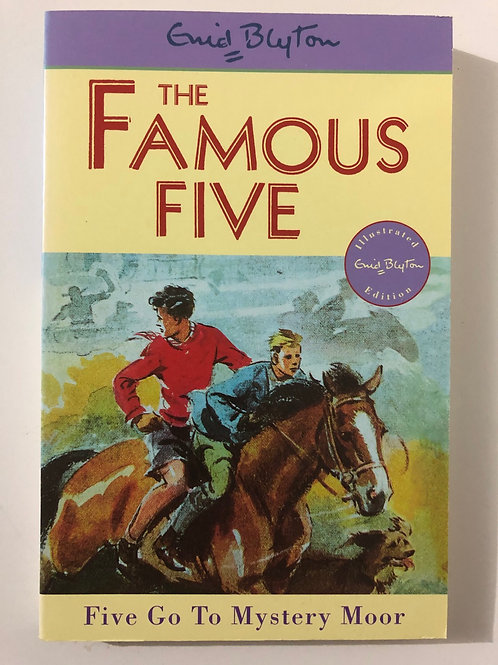 Five Go To Mystery Moor by Enid Blyton (The Famous Five 13)