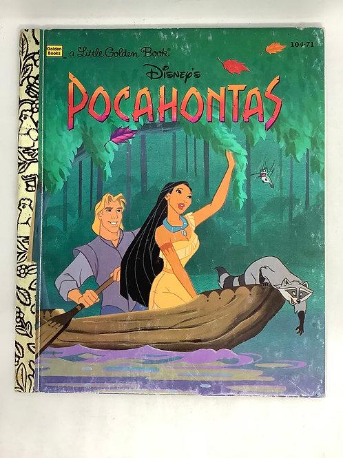 A Little Golden Book - Disney's Pocahontas
