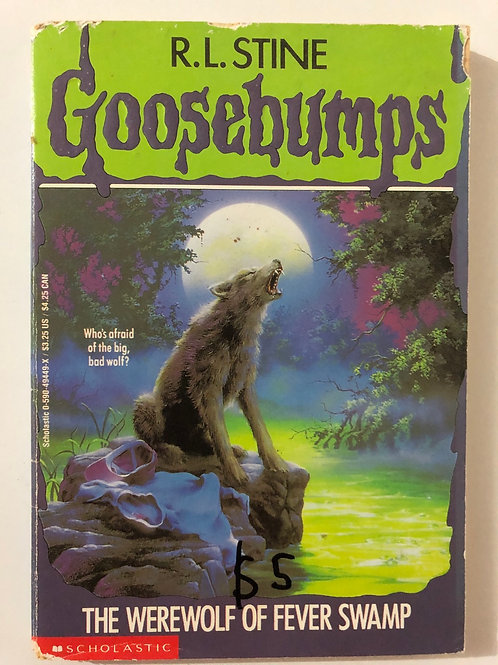 The Werewolf of Fever Swamp by R.L. Stine (Goosebumps 14)