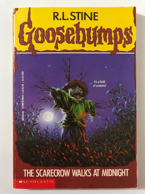 The Scarecrow Walks at Midnight by R.L. Stine (Goosebumps 20)