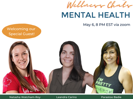 MAY 6th WELLNESS CHAT WITH RUGBY 7's OLYMPIC MEDALIST