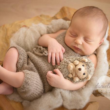 Pepe | 9 Tage jung | Neugeborenenfotos in Regensburg