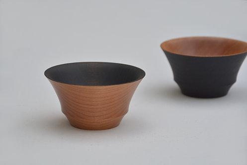 鉄染め小鉢(内黒)