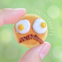 pancake face II, 2015