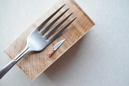 shibuichi knife, 2016