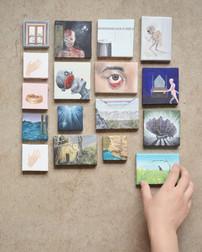 dream paintings, 2012-17