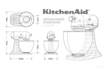 study of kitchenaid mixer in rhino, 2019