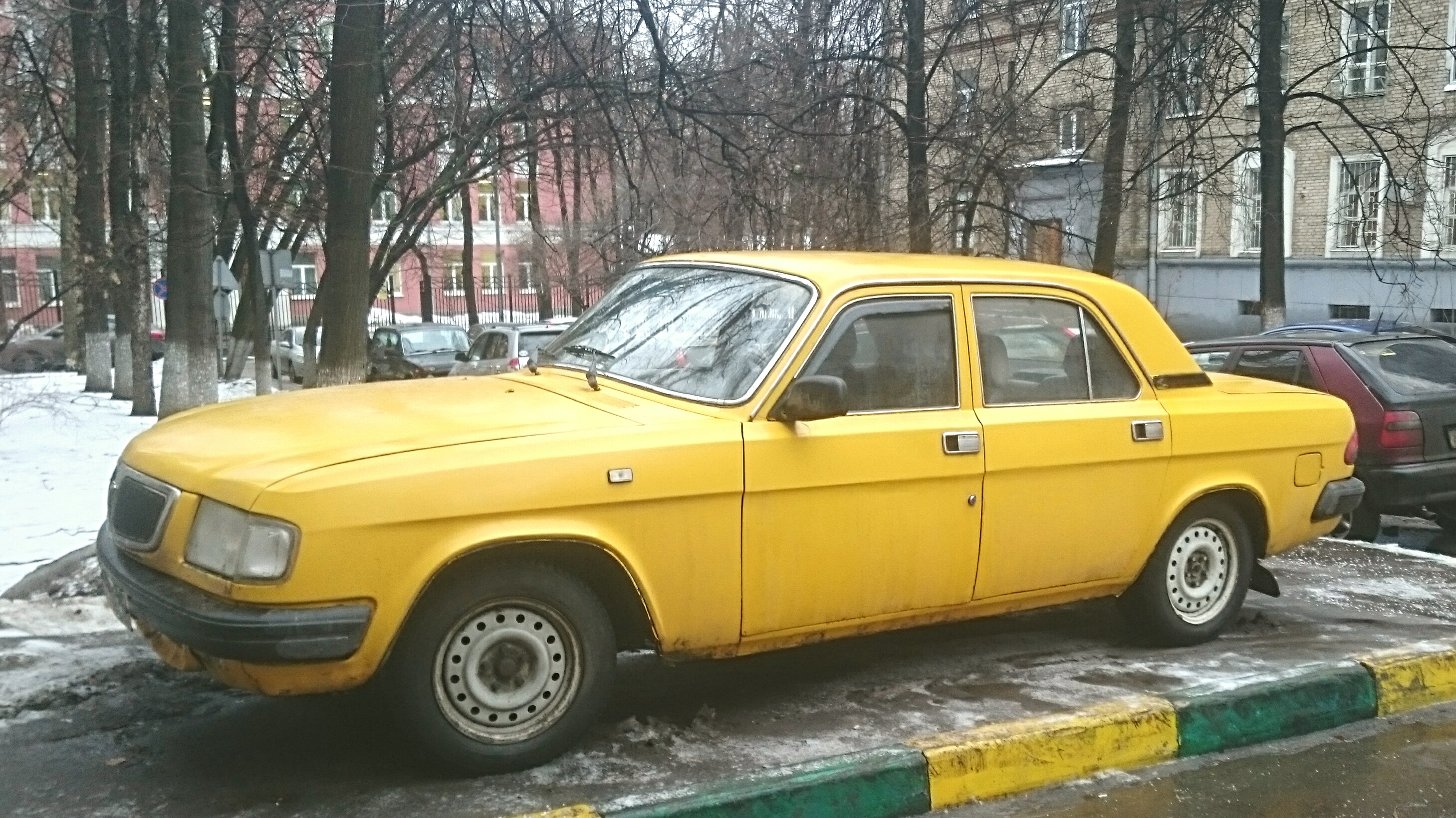газ 3110 такси