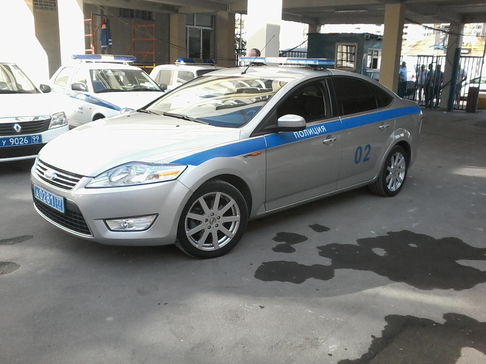 полиция форд мондео2